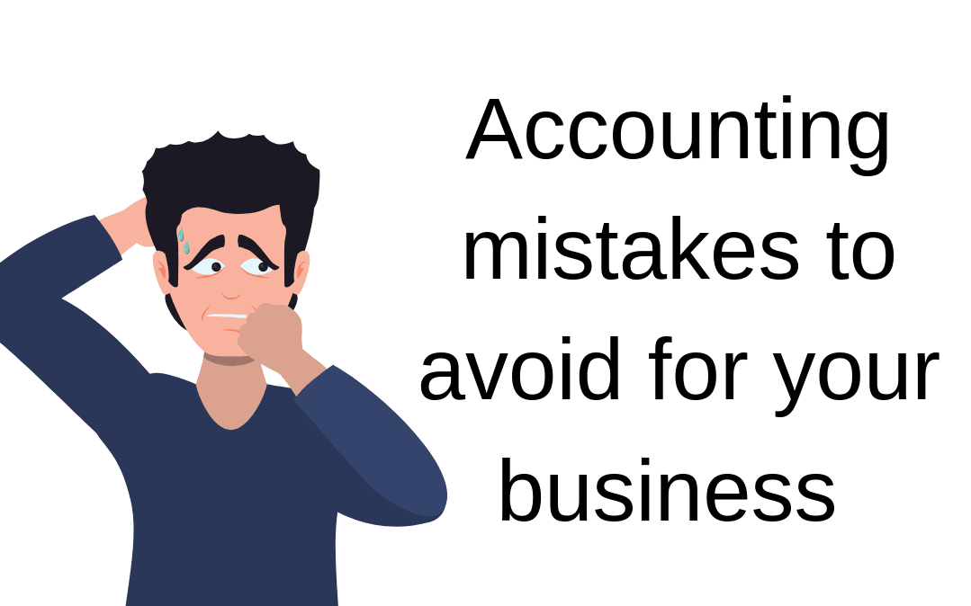 avoid accounting mistakes
