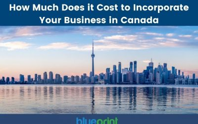 How much does it cost to incorporate in Canada