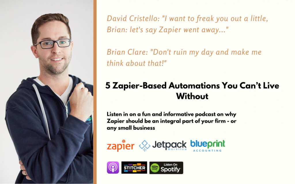 Podcast – 5 Zapier-Based Automations You Can't Live Without