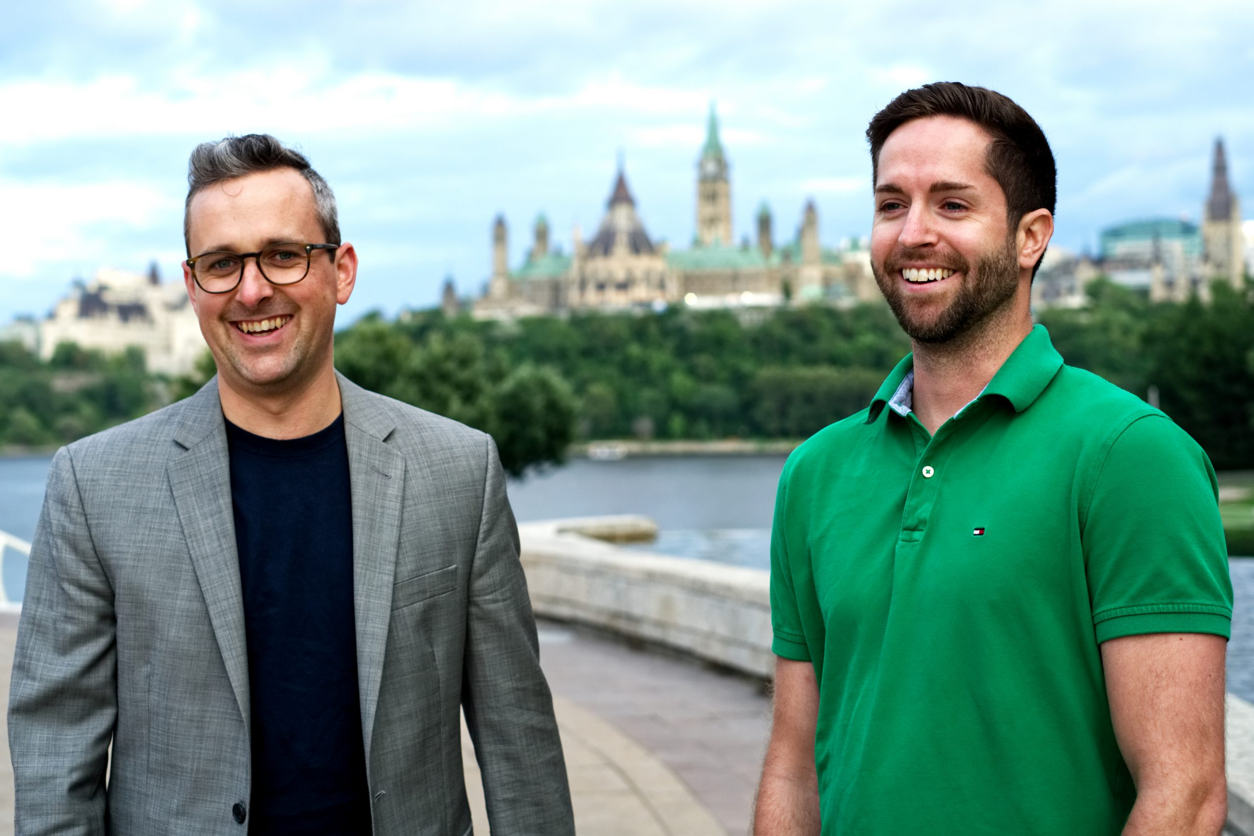 Brian and Sean in Ottawa - Blueprint Accounting Founders